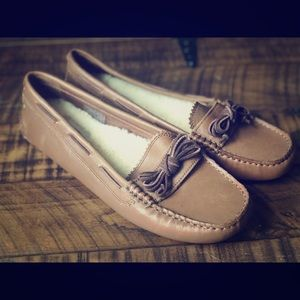 Ugg Brown Loafers Moccasins 9